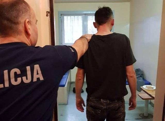 Pedofil uciekła przed policjantami