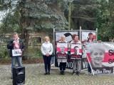 Białystok. Akcja solidarnościowa  z aresztowanymi przedstawicielami polskiej mniejszości na Białorusi