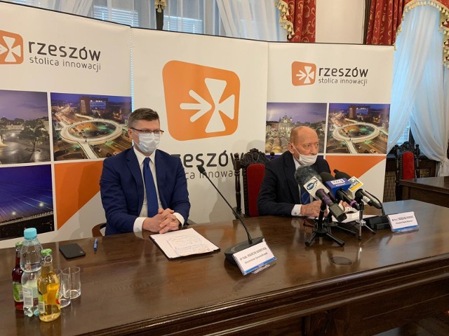 Tadeusz Ferenc w trakcie konferencji poinformował o swojej rezygnacji z urzędu prezydenta Rzeszowa.