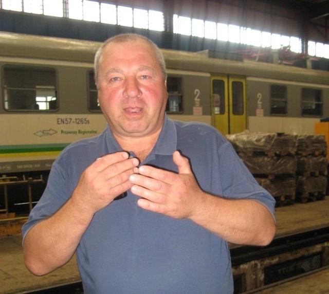 - Oprotestowaliśmy nowy rozkład jazdy, bo uderza w pasażerów - uważa Zbigniew Spurgiasz.