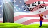 USA: Ameryka oddaje hołd ofiarom tragicznych zamachów 11 września 2001.