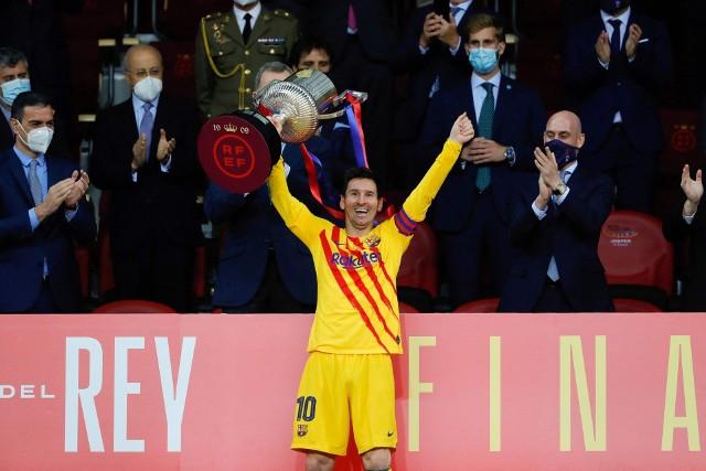 Po zdobyciu przez Barcelonę Pucharu Króla Messi sugerował, że będzie chciał jednak zostać w Barcelonie. Pytanie co zrobi teraz...