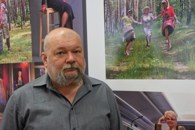 """Dom Kultury Śródmieście. Wojciech Biegański przygotowuje wystawę """"Piękne i ja"""""""