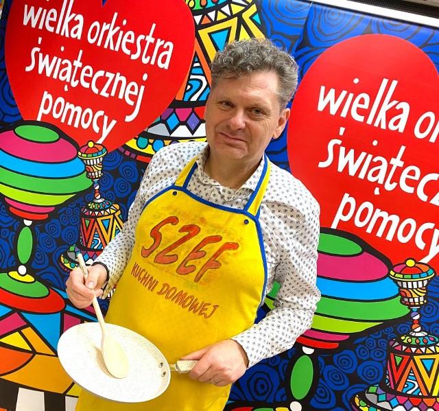 Burmistrz Jacek Lipiński słynie z talentów kulinarnych