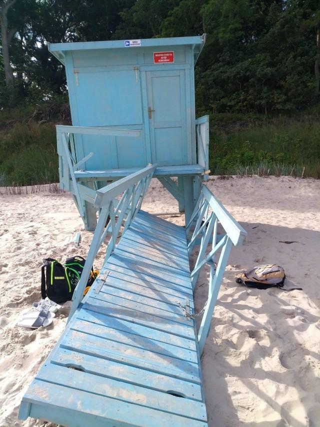 Kolejny akt wandalizmu na plaży w regionie