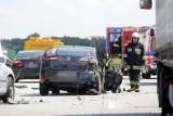 Karambol na autostradzie A4. Potężny korek do Wrocławia