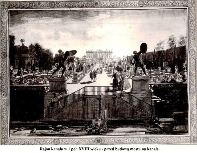 Tak przed wiekami wyglądały rzeźby gladiatorów. Postacie od razu rzucały się w oczy i otwierały widok na szplaer rzeźb na zapleczu Pałacu Branickich.