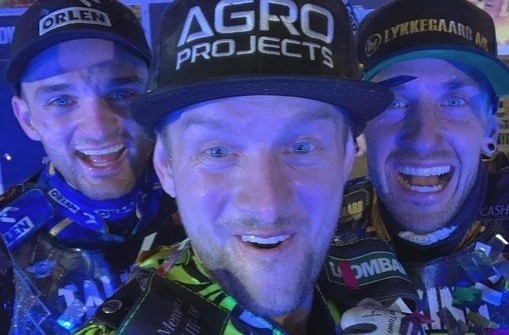 Na podium Grand Prix Rosji stanęli: Bartosz Zmarzlik, Artiom Łaguta i Anders Thomsen.