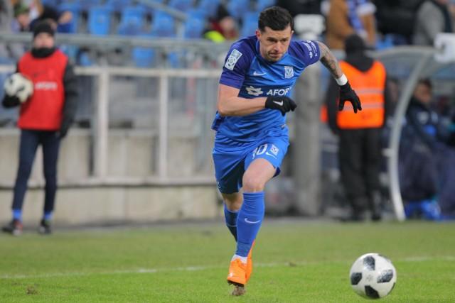 Darko Jevtić w meczu z Pogonią zagrał zdecydowanie słabiej niż Radosław Majewski.