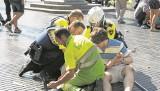 Barcelona: Mieszkańcy i turyści w szoku