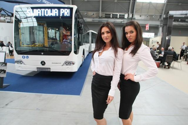Światową premierę miał na targach w Kielcach superekologiczny i superekonomiczny autobus miejski mercedes-benz conecto z silnikiem Euro 6.