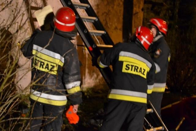 Wielkie ćwiczenia strażaków w ruinach wsi