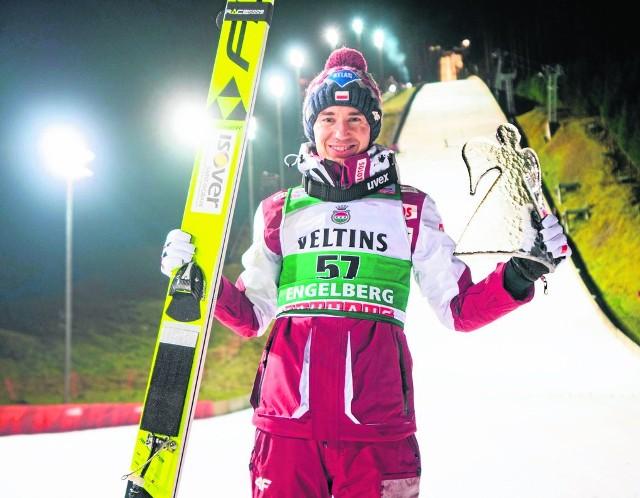 Kamil Stoch w Engelbergu wygrał 34. konkurs PŚ w karierze