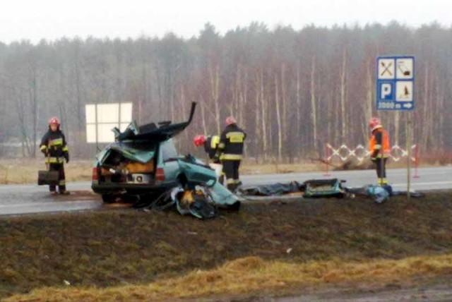 Samochody zderzyły się około 3.40