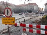 Remont na placu Kościuszki stanął. Będzie kilka miesięcy opóźnienia (ZDJĘCIA)