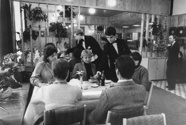 10 01 1984, Katowice, Nowa restauracja