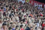 Frekwencja na stadionie pierwszoligowych piłkarzy Widzewa na drugim miejscu w Polsce