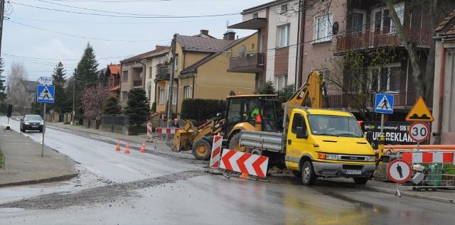Ulica Krakowska w Proszowicach będzie przebudowana