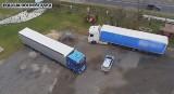 Skradzione w Niemczech ciężarówki warte milion złotych miały trafić na Litwę