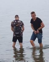 Sikali do Jeziora Nyskiego podczas Festiwalu Ognia i Wody. Przyłapała ich czytelniczka nto
