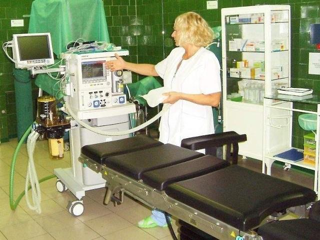 Niedawno lecznica wzbogaciła się o nowy sprzęt