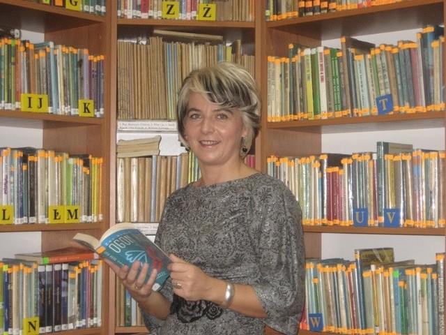 Mariola Zalewska - dyrektor Gminnej Biblioteki Publicznej