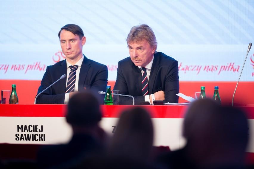 Maciej Sawicki (z lewej) i Zbigniew Boniek