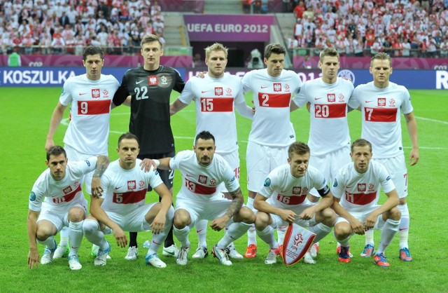 Reprezentacja Polski przed meczem Euro 2012.