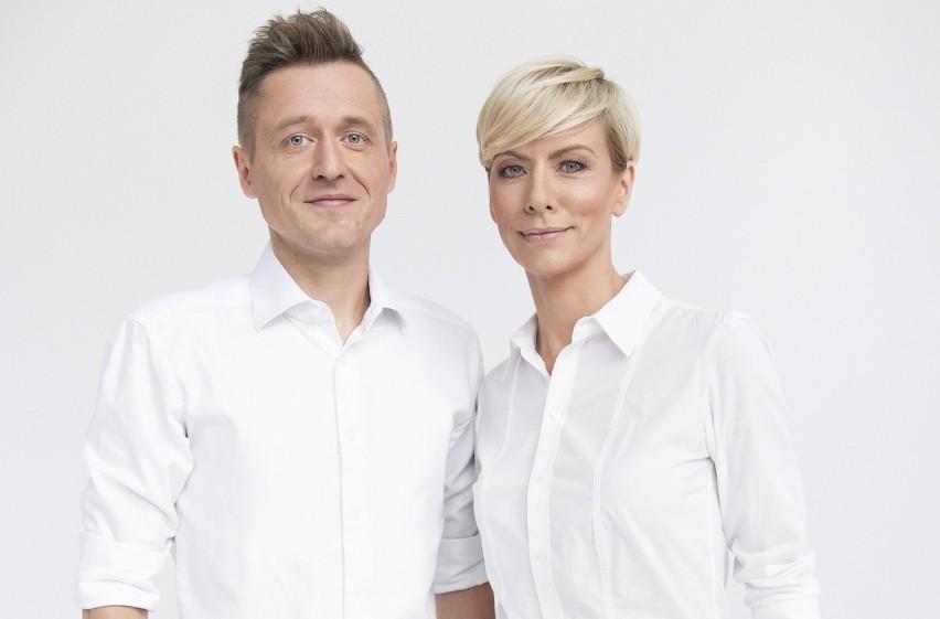 """Autorzy książki """"Mecz to pretekst"""": Anita Werner i Michał Kołodziejczyk"""