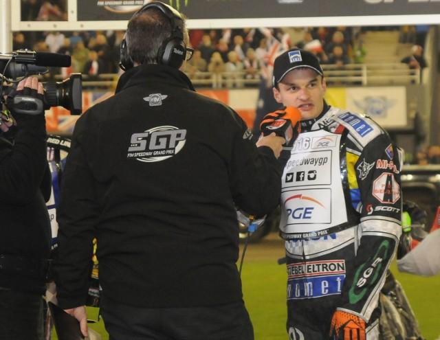 Rok temu Adrian Miedziński stanął na najwyższym stopniu podium w Grand Prix Polski.
