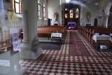 Tajemniczy rabunek w kościele w Obrzycach pod Międzyrzeczem. Rabusie weszli do świątyni podziemnym korytarzem!