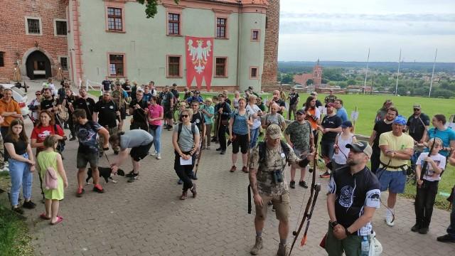 Na Mistrzostwa Łuczników 3D na zamku w Golubiu-Dobrzyniu zjechało około 150 osób