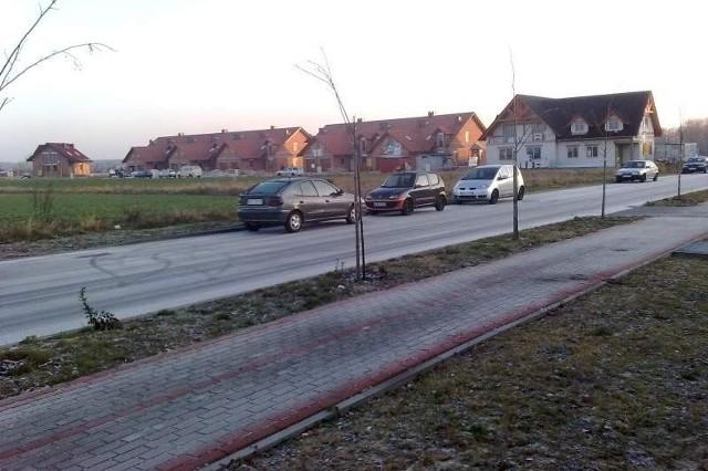 Nowe ulice powstały na osiedlu budowanym za ulicą Lipową.