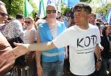 """""""Błękitny marsz"""" 7 maja w Warszawie: Marsz KOD i opozycji przeszedł przez Warszawę [ZDJĘCIA] [VIDEO]"""