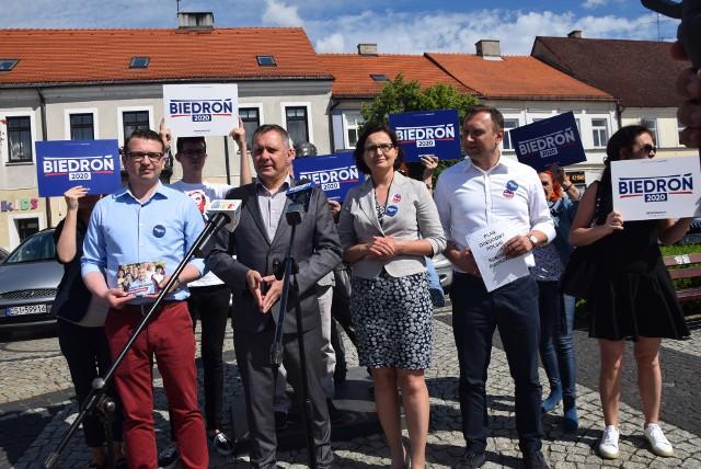 Nowa Lewica i sztab Roberta Biedronia zachęcali aby głosować na ich kandydata