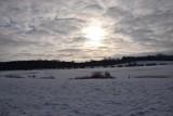 Tak wygląda zima nad zbiornikiem Kępina w Zduńskiej Woli ZDJĘCIA