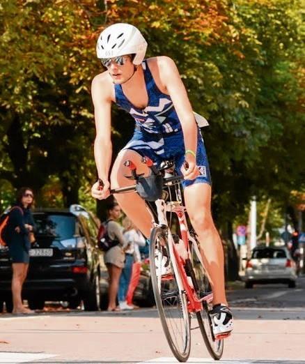 Bartłomiej Czyż trenował kolarstwo, teraz jest triathlonistą