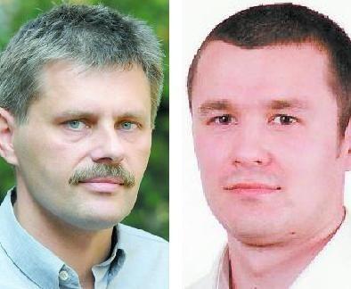 Po lewej Dariusz Pańka z Uniwersytetu Technologiczno-Przyrodniczego w Bydgoszczy. Po prawej Piotr Szewczykowski pracuje w Toruńskiej Agencji Rozwoju Regionalnego.