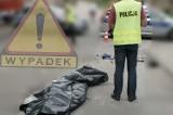Śmiertelny wypadek w Łomży na pasach. 18-latek zabił dwie osoby
