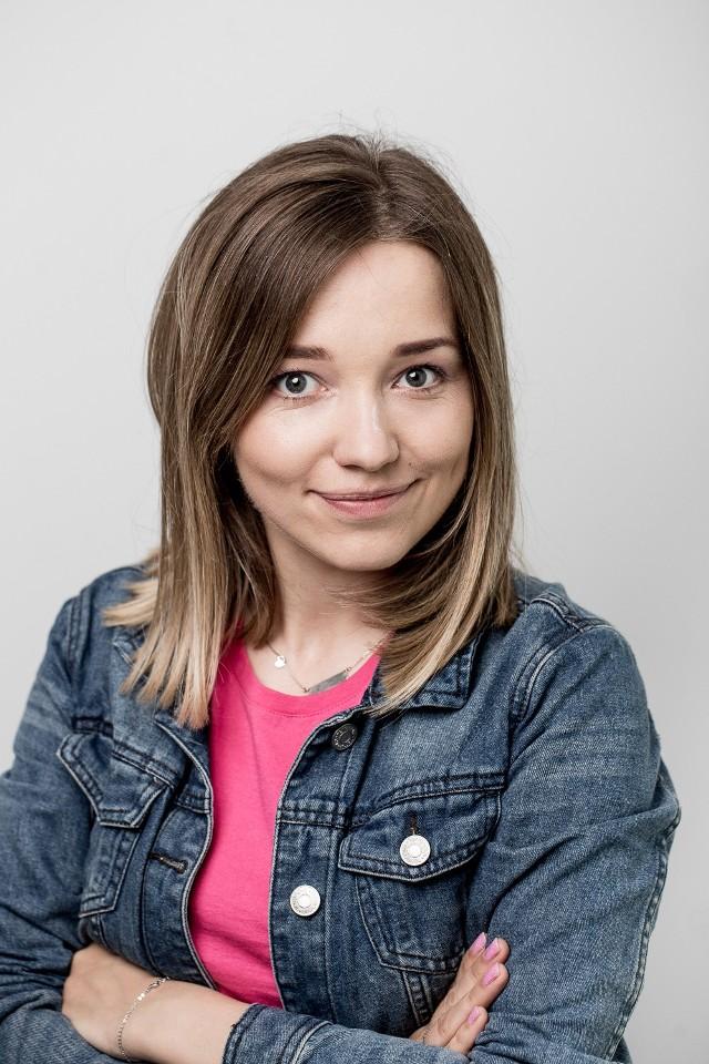 Justyna Witkoś z Fundacji Iskierka, opiekun oddziału w Rzeszowie