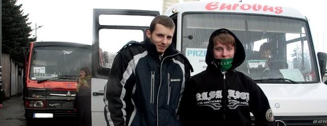 Artur i Maciek codziennie dojeżdżają na uczelnię do Rzeszowa ze Stalowej Woli. Twierdzą, że lokalizacja parkingu przy klasztorze jest idealna. Trudno będzie się przyzwyczaić do innej.