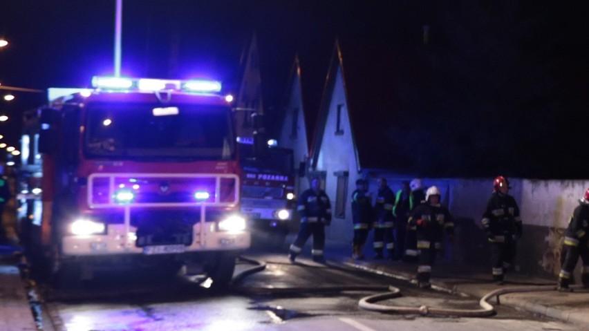 Do zdarzenia doszło w sobotę (10 grudnia) nad ranem. W okolicy Brzeźnicy rozległ się huk wybuchu.