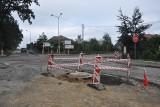 Remont skrzyżowania w Pępowie potrwa do końca września