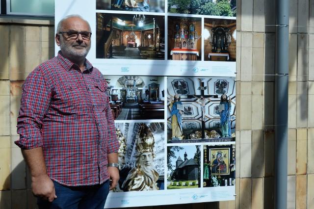 - Zdjęcia, z których część można zobaczyć na wystawie, robiłem przez ponad dwa lata - mówi Andrzej Nowak.