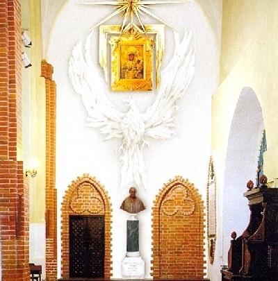 Tak ma wyglądać nowy ołtarz Jana Pawła II, który powstanie w południowej nawie katedry.