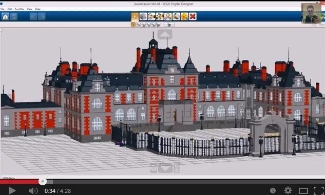Lego Digital Designer - pałac w Świerklańcu