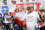 Donald Trump w Warszawie [ZDJĘCIA] Przemówienia na pl. Krasińskich słuchali politycy i tysiące ludzi