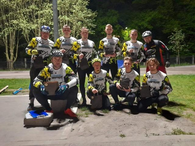 Klub Speedrowerowy Harpagan Zielona Góra od zwycięstwa we Wrocławiu rozpoczął pierwszoligowy sezon.