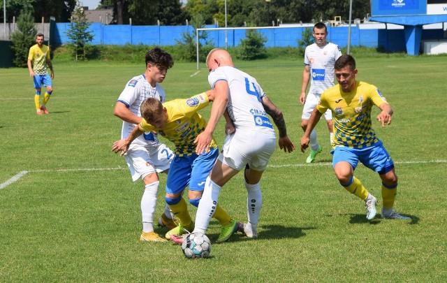 W meczu ze Stalą Brzeg próżno było w ekipie Odry szukać zawodników z pierwszej drużyny.