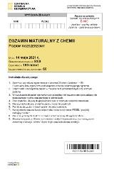 Matura 2021: chemia, poziom rozszerzony. ARKUSZ CKE + ODPOWIEDZI. Jakie zadania pojawią się na maturze z chemii 14.05.2021?